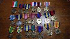 MILITARY 20 MEDAL COLLECTION US ARMY NAVY DESERT STORM USMC KOREA VIETNAM WAR