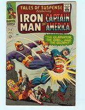Tales of Suspense 76 7.5 VF Iron Man Captain America Marvel Comics Silver Age HG