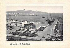263) LA SPEZIA IL MOLO ITALIA.