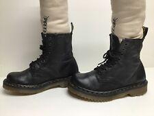VTG MENS DR. MARTENS WORK BLACK BOOTS SIZE 6