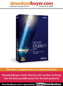 MAGIX VEGAS Movie Studio 17 Suite - [Boxed]