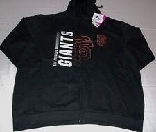 San Francisco Giants Hoodie Ladies 1XL Full Zip Majestic Jacket Cool Black MLB