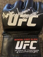 Houston Alexander Autographed Ufc Ultimate Fighting Championship Glove-Coa