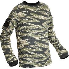 New Valken Paintball VTac V-Tac KILO Playing Jersey - Tiger Stripe - Large L