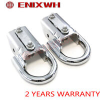 JMTAAT 2Pcs Chrome Tow Hooks with Mounting Hardware for 2009-2016 Ford F150
