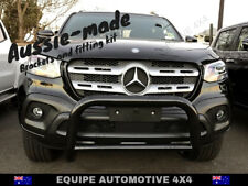 2018 2019 Mercedes-Benz 220d X-Class BLACK STEEL NUDGE BAR  with LIGHT TAGS