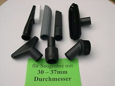 6x Saugdüse + Adapter DN35 für Bosch GAS 12-30 20 25 35 50 55 L M Sauger