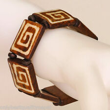 Armband Spirale Symbol Pulsera Glücksband Buddhismus Handarbeit Nepal 138b