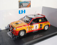 RENAULT 5 TURBO #4 CALBERSON TOUR de FRANCE 80 RAGNOTTI 1/18 UNIVERSAL HOBBIES