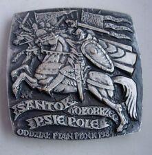 BATTLE OF HUNDSFELD SILESIAN HOLY ROMAN EMPIRE POLISH POLAND MEDAL