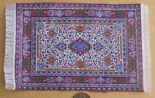 1:12 Scale 10cm x 15.5cm Woven Turkish Rug Tumdee Dolls House Small Carpet P13s