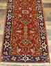 """2'7""""x10' New Hand knotted Wool super Serapi Herizz Oriental area rug runner"""