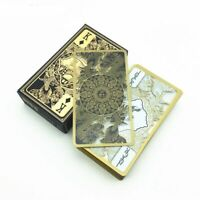 Waterproof Transparent Plastic Poker Playing Cards Dragon Card Game Collection