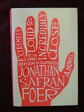 Extremely Loud and Incredibly Close by Jonathan Safran Foer 1st Edit, 1st Print