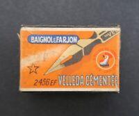Boite plume BAIGNOL & FARJON VELLEDA 2436 EF pen nibs box pennini