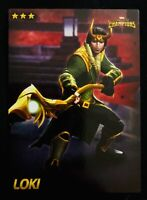 Marvel Dave and Busters Card 44 Loki (Non-Foil) Contest of Champions UNCOMMON