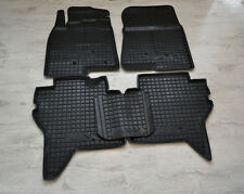 Rubber Car Floor Mats All Weather Custom Fit Mitsubishi Pajero 4 5D 2006-2016