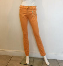 BALENCIAGA NWT Jeans Mid Rise Straight Leg Orange Sz 32 Color $550