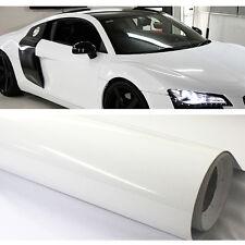 152cm x 2000cm Gloss White Vinyl Car / Wall Decal Sticker Wrap Sheet