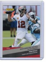 TOM BRADY 2020 Panini Instant Football Brady Earns First Win With The Buccaneers