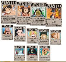 (Malaysia Ready Stock) (1 set 12 pieces) one piece POSTER Luffy Wallpaper 19x28