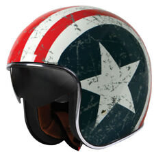 Casque origine Rebel Star Bleu/blanc/rouge L