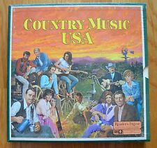 """""""Country Music USA"""" (country 1977) - Reader's Digest:  8 LP boxed set"""