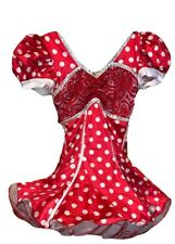 SHOWTIME CREATIONS Size XS Dance wear Tutu Costumes Polka-dots Red White Dress