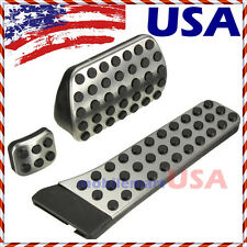 Foot Brake Pedal Pads Covers for Mercedes Benz C E S GLK SLK CLS SL Class Sport