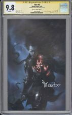Thor #6 CGC SS 9.8 Miguel Mercado signed Black Winter VIRGIN variant cvr MARVEL