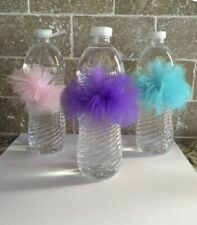 Tulle Water Bottle Poms (set of 10)