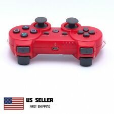 Wireless Controller Compatible With PS3 PlayStation 3 PC MAC Red
