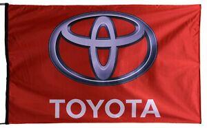 TOYOTA-FLAG RED BANNER LANDSCAPE 5 X 3 FT 150 X 90 CM