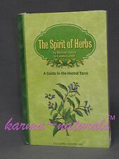 The Spirit of Herbs Book -A Guide to the Herbal Tarot Card Deck -Cantin & Tierra