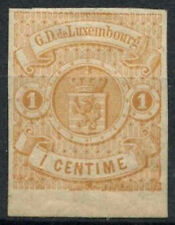 Mint Hinged Postage Luxembourg Stamps