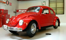 Miniatura Volkswagen Beetle Mariquita 1973 rojo 1/24 Maisto nueva no se caja