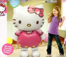 "50"" Hello Kitty Airwalker Jumbo Foil Balloon Birthday Decoration Party Supplies"
