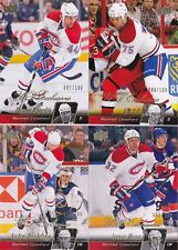 10-11 Upper Deck Travis Moen /100 UD Exclusives Canadiens 2010