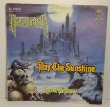 """NAZARETH - May The Sun Shine >> 7"""" Single Vinyl vertigo 1978 -VG++"""