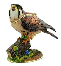 KESTREL, BIRD of PREY TRINKET BOX, Eagle ORNAMENT,JULIANA TREASURED TRINKETS