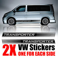 VW Transporter Côté decals stickers Camper Van Graphics T4 T5 T6 Caddy