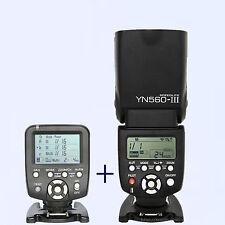 Yongnuo YN-560TX  manual flash controller + YN-560III Flash speedlite for Nikon