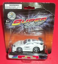 Super Tuner - New - White 1998 Toyota Supra Turbo - Die Cast