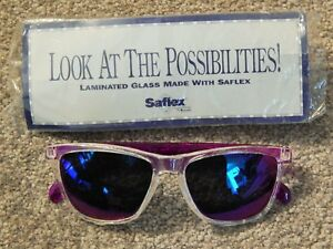 FASHION SUNGLASSES OF LAMINATED SAFLEX GLASS! BRAND NEW IN CELLOPHANE SLEEVE