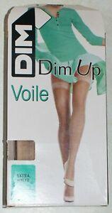 """paire de bas brun chaud fantaisie Dim Up /""""les belles de Dim/"""" neuf taille 2"""