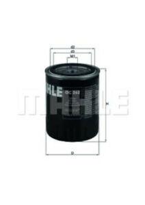 MAHLE Ölfilter für VW CADDY II,GOLF III IV,PASSAT,POLO,SHARAN,TRANSPORTER