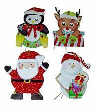 Pooch & Sweetheart 24 3-D Christmas Gift Tags Rudolph Santa 14709 Punch Studio