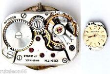 ZENITH  11 original ladies watch manual wind movement for parts or repair (1954)