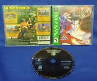 Tekken 3 1-2 players Namco  - Playstation 1 2 PS1 PS2 Rare Game Tested + Working