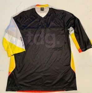 Specialized Men Mountain Biking Cycling Relax Fit Relaxedfit Jersey Size M